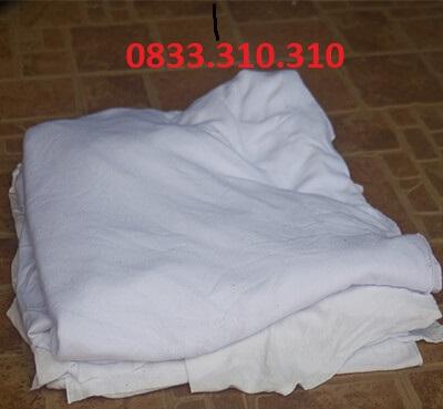 vải lau màu trắng lớn